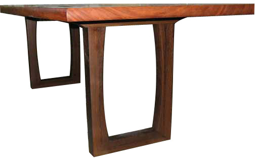 Bubinga and Wenge Gathering Table