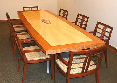 Chajo Handcrafted Art Furnishings Conference Table - Big conference table