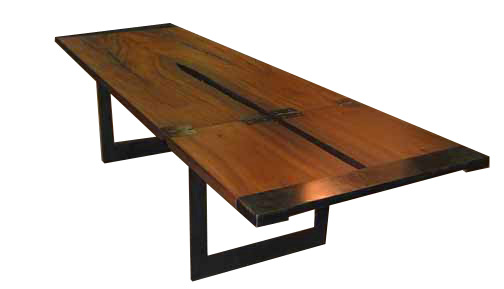 folding table metal legs extended | wood slab tables | pinterest