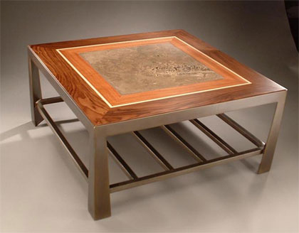 chajo: handcrafted art furnishings - tapered coffee tables